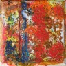 Diana's encaustic paintings