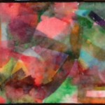 Diana's encaustic paintings